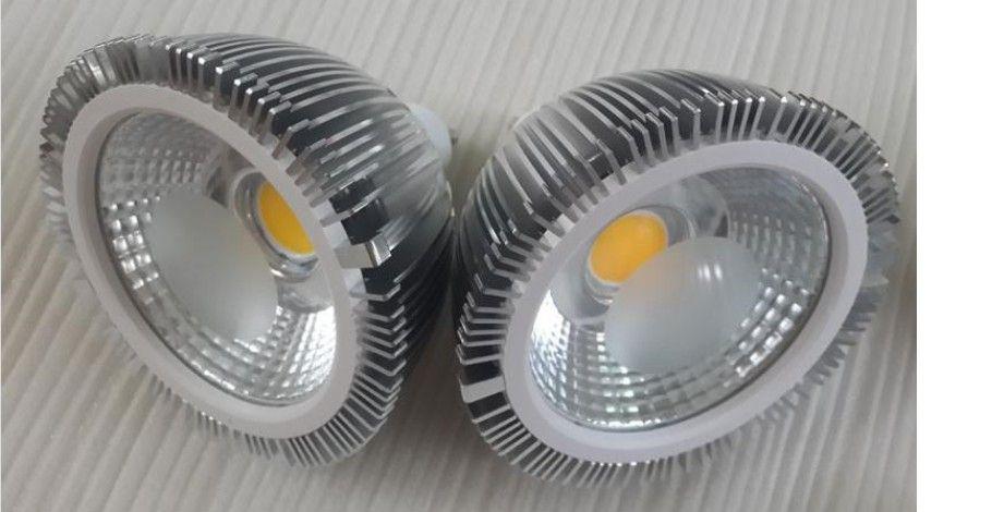 E27 E26 GU10 PAR30 luzes ultra brilhante 18W COB Dimmable lâmpadas LED 30/60 Ângulo quente / frio Branco AC 110-240V + 3 anos de garantia