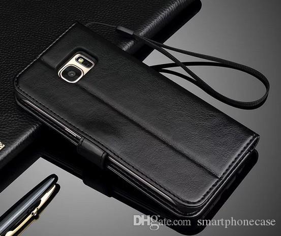 삼성 S7 가장자리 케이스 플립 커버에 대 한 슬링 클래식 지갑 삼성 갤럭시 S7 가장자리에 대 한 럭셔리 원래 다채로운 귀여운 귀여운 슬림 가죽 케이스