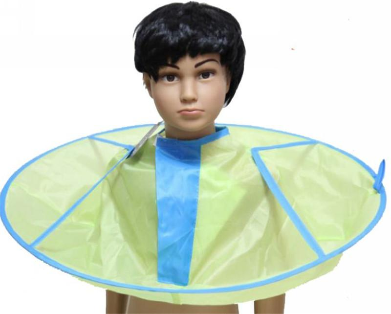 Child Kid Hair Cutting Cape Gown Hairdresser Bib Barber Cloak Styling Salon Waterproof Foldable Will Shiped ASAP