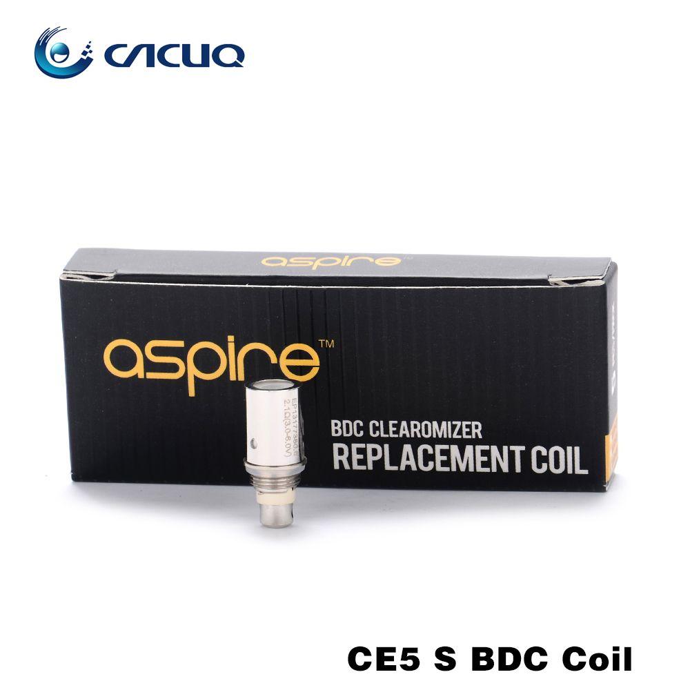 Aspire Coils 100% Original Aspire Bdc Coil Bvc Coil Head For Ce5 Ets ...