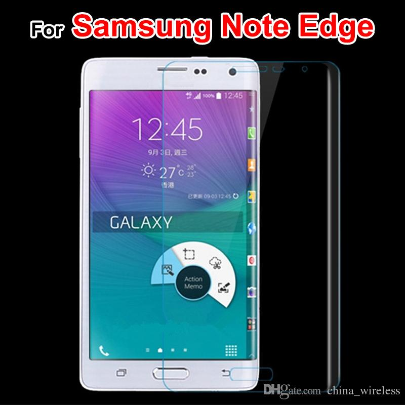 For Samsung Galaxy S6 S7 S7 edge Front &Back Note Edge 3D Fully Covered Clear TPU Front Screen Protector Film S6 edge plus