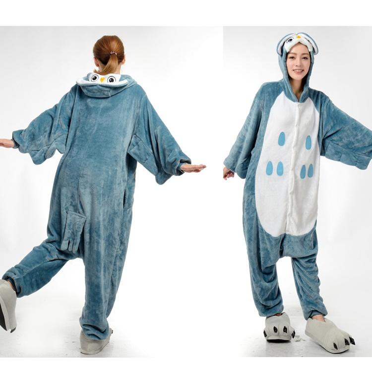 dff0ca3112b3 2019 Animal Onesies Adult Onesies Costume Pyjamas Cute Owl Onesies Women  Animal Onesies Pyjamas Anime Cosplay Costumes Animal Costume Pyjamas From  ...