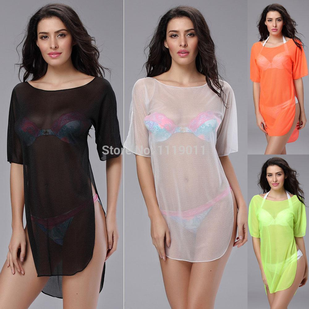 1510 See Through Beach Wear Swimsuit Cover Ups Of Bathing Suit