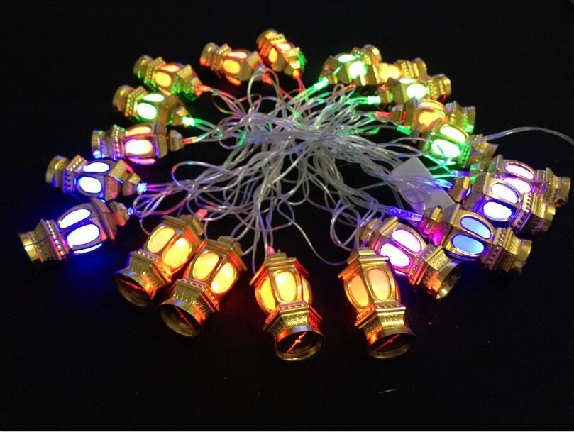 Mouderling cadena de luces LED RGB chiristmas luces de la decoración del festival del partido de la boda de fiesta llevó luces de linterna 110v 220v iluminaciones de cuerda