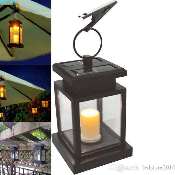 2018 Classic Outdoor Candle Lantern Solar Powered Led Light Garden Yard  Wall Landscape Lamp Umbrella Tree Lantern Hang Hanging Lamp From  Ledstore2010, ...