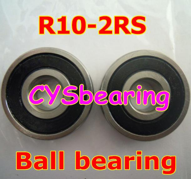 500pcs / lot R10 2RS R10-2RS 5/8