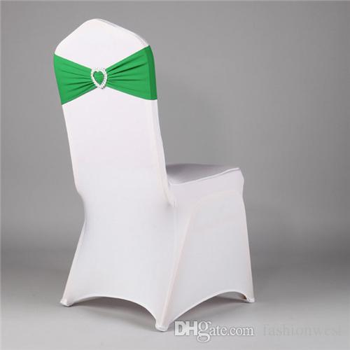 Chair Cover Chair Bow Chair Cover Hot Wedding Classic Drill without Tie Chair Bow Wedding Elastic and Adjustable Decoration