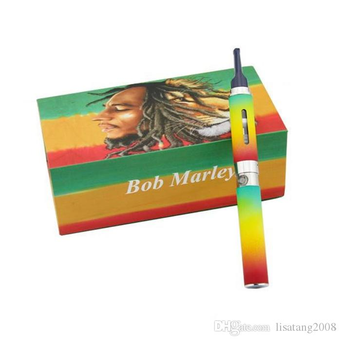 Bob marley box kit dry herbal vaporizer vape pens wax Dry herb atomizer fit for ego-t battery
