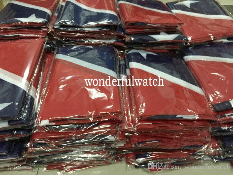 Две стороны печатных флаг Конфедерации Rebel Гражданской войны флаг национальный флаг полиэстер 5 х 3 фута 50шт DHL бесплатная доставка