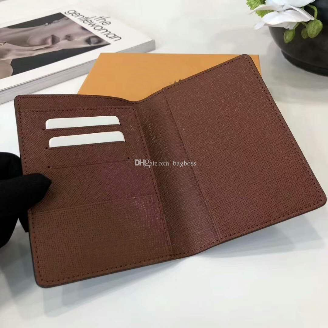 Famous Brand Luxury Brand Passport Cover Wallet Women Leather Diary ...