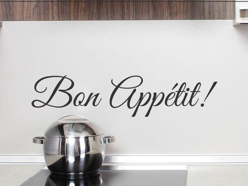 Exceptional French Word Bon Appetit Wall Decal Kitchen Vinyl Wall Sticker Dining Room  Removable Wall Decor Wall Murals Decals Wall Murals Stickers From Flylife,  ... Part 31