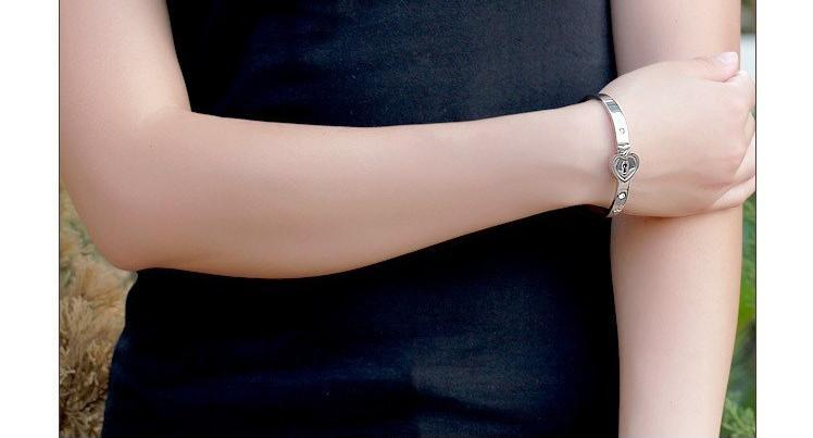 2018 New Titanium steel necklace bracelet jewelry sets rose gold fashion lovers bracelet necklaces birthday present