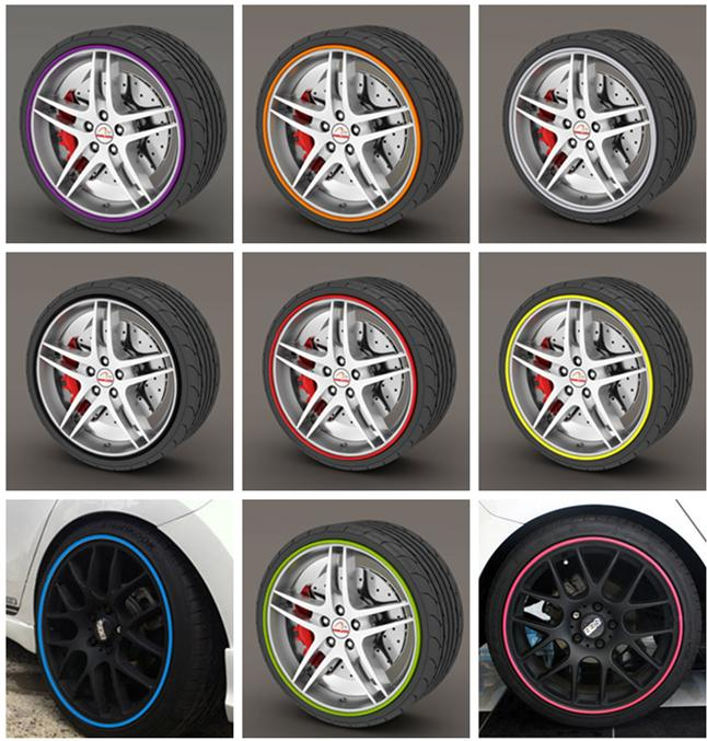 2018 Exterior Accessories Car Stickers 7m/ Roll 2015 New Styling ...