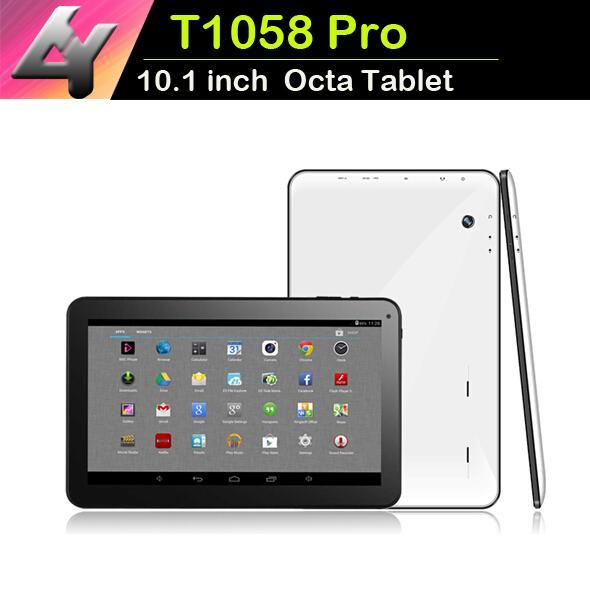Tablet pc 10 Pouce Quad Core Tablet PC A33 Android 4.4 1 GB RAM 8 GB Stockage Wifi Double Caméra ARM Cortex A7 1.2GHz MQ10 DHL libre