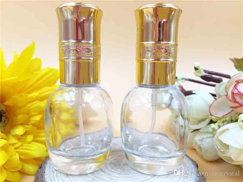 10 ml Portátil MINI Frasco De Perfume De Vidro Recarregáveis Perfume Vazio Perfumado Frascos Atomizador Frasco De Spray Cosméticos Recipiente De Maquiagem Desconto