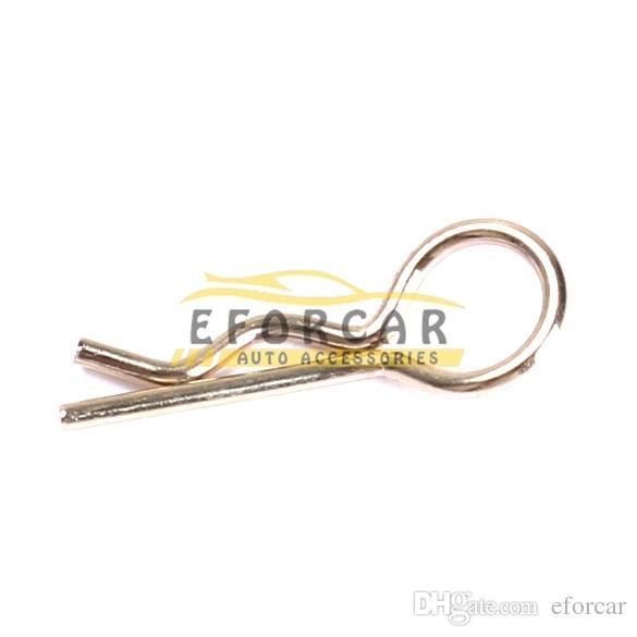 02053 Vücut Klip Cıvata Klipler HSP Yedek Parçaları Için 1/10 RC Model Araba Gümüş BS8