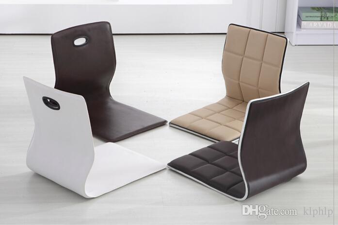 acheter japonaise meubles salon chaise en gros faux cuir 4 design tage chaise tatami legless mditation zaisu pour le sol de 22614 du klphlp dhgate - Chaise Salon Design