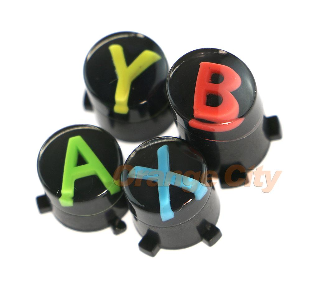 HOT NEW For XBOX ONE Wireless Controller button ABXY LOGO set mod kit Repair Parts Controller Parts