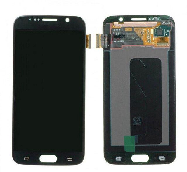 Samsung Galaxy S6 G920A G920T G920V G920P G920F Yeni LCD Dokunmatik Ekran Digitizer Yedek Parçaları ücretsiz kargo