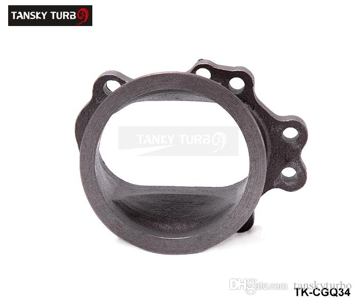 """GT25 GT28 8 Bolt 3.0/"""" V-Band Clamp Flange Turbo Exhaust Adaptor T28 T25"""
