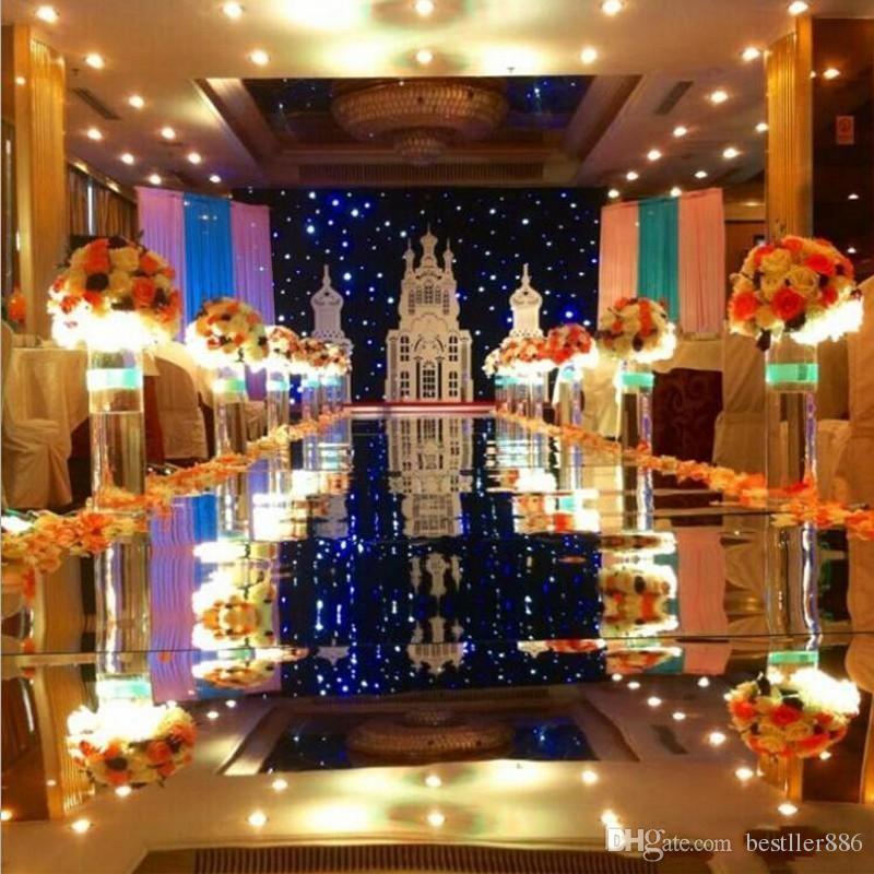 compre decoración de lujo oro plata espejo de doble cara alfombra