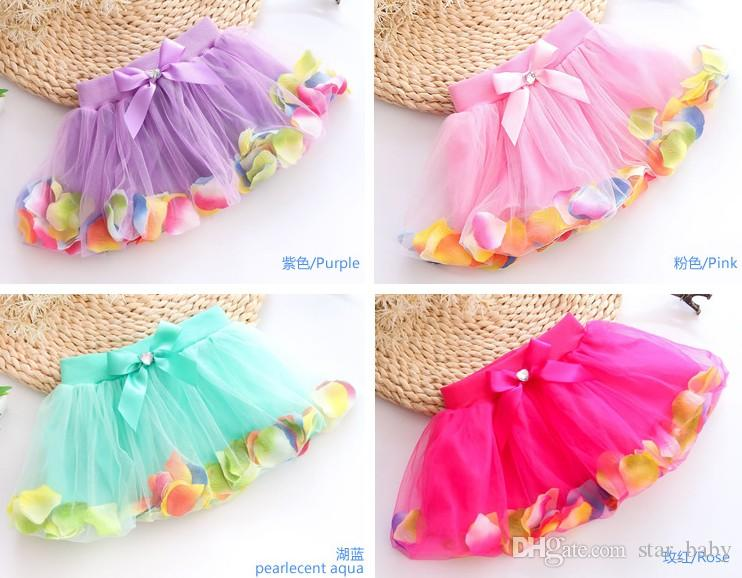 Kids Lace Beading Tutu Puff Pleated Layered Tulle Skirts Girls Tutu Gauze Skirt Kids Clothes Lace Skirts Cute Party Dress