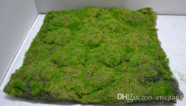 2018 30cm 30cm Artificial Moss Mat Grass Mat Boxwood Mat