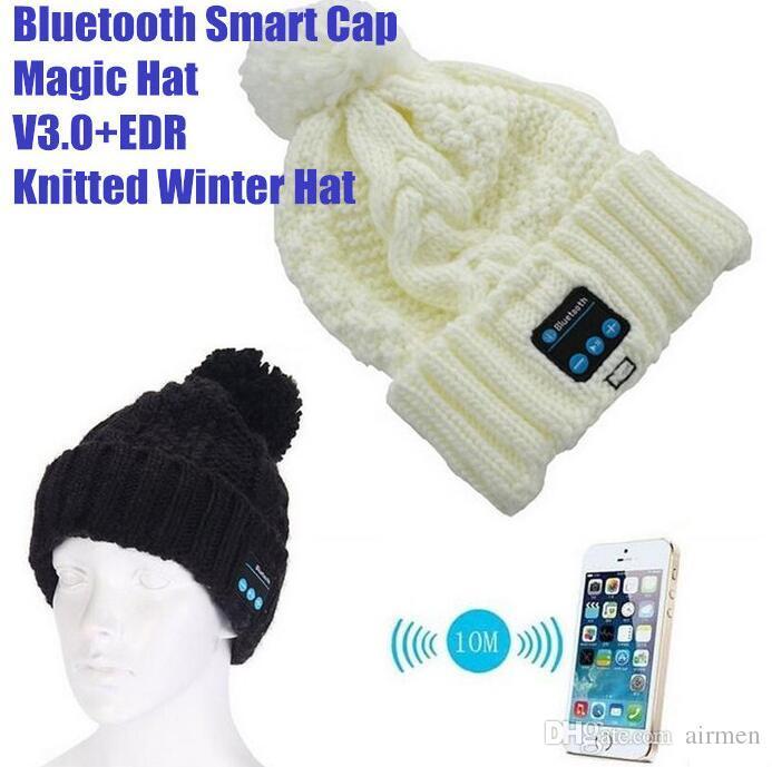 Новые мягкие теплые шапочки Bluetooth музыка Hat Cap с стерео наушники гарнитура динамик беспроводной микрофон громкой связи для мужчин женщин подарок epacket