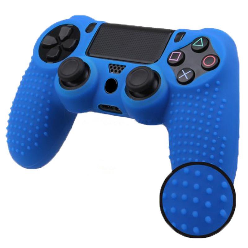 Game Controller Schützende Haut Fall Abdeckung Weiche Silikon Anti-slip PS4 Gamepad Fall Für Playstation 4 PS4 Wireless Controller Freies DHL