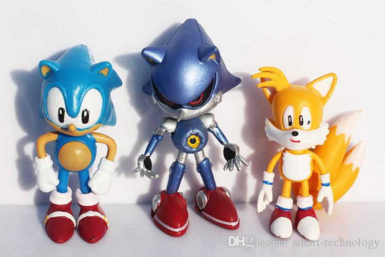 Sonic Figure Toys Sonic The Hedgehog Figuras de PVC Toy Cartoon Anime Figure Gifts