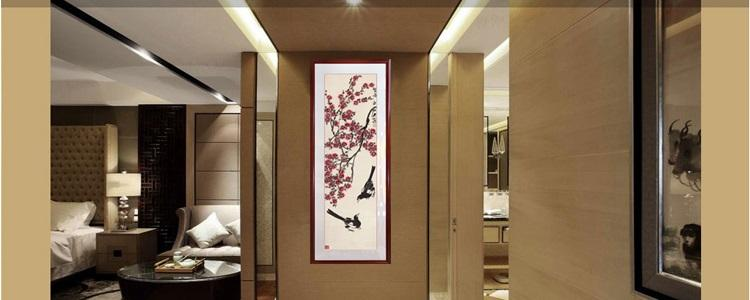 2017 Qi Baishi Double Happiness Figure Chinese Living Room Bedroom Decoration Of Painting Ink And Meaning For The Magpies From Rakutenstore