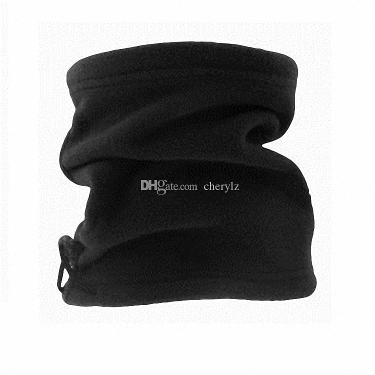 Polar Fleece Neck Warmer Snood Écharpe Multi-fonctions Chapeau Unisexe Thermal Ski Wear Bonnet Snowboard Vente Promotion C0387