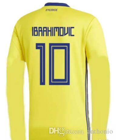separation shoes a54bc 07eb0 zlatan ibrahimovic long sleeve jersey