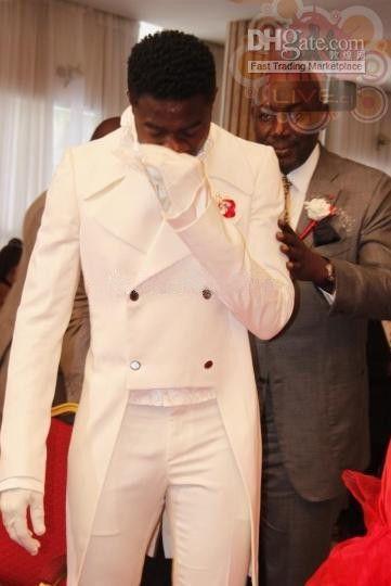 New Style Size and Color Groom Tuxedos Groomsmen Men Wedding SuitsJacket+Pants