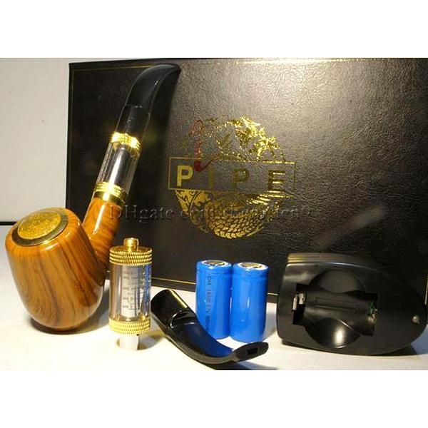 E pipe 618 mod kit Santé Tuyau De Tabagisme Cigarette Électronique Tuyau Imiter Conception En Bois Massif Avec Le Meilleur De Qualité-package Paquet jhot sale DHL TZ304