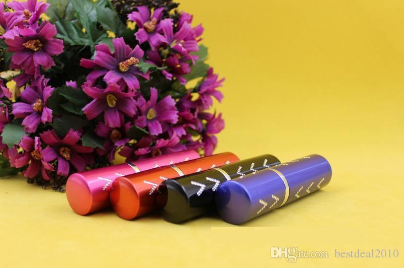 5CC 5ML V Style Mini Colorful Travel Spray Perfume Bottles Refillable Portable Empty Atomiser Drop Shipping