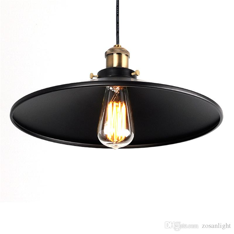 Vintage American Country Chandelier Edison LED Industrial Pendant Lamps Halogen Retro Iron Pendant Lamps cafe shop E27 ty-001-1