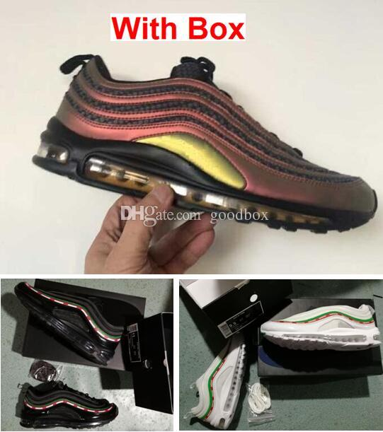 97 Skepta Marrakesh 97 OG UNDFTD BLACK SPEED RED DS Zapatillas de correr de calidad superior con caja Hombre Envío rápido por EMS
