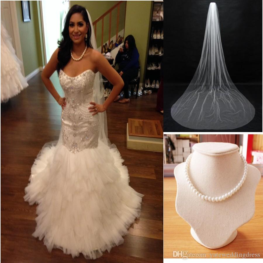 Mermaid wedding dresseswedding veilpearl necklace sweetheart mermaid wedding dresseswedding veilpearl necklace sweetheart tulle taffeta arabian wedding gowns ruffles 2015 bridal gowns lace up back mermaid wedding ombrellifo Choice Image