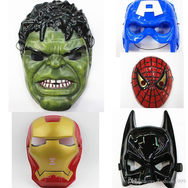compre rosto cheio para as crianças máscara vingadores homem de