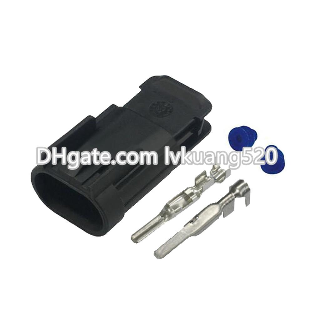 2 Pin 2.8mm Waterproof car connector male plug connector terminal connector DJ7025D-2.8-11