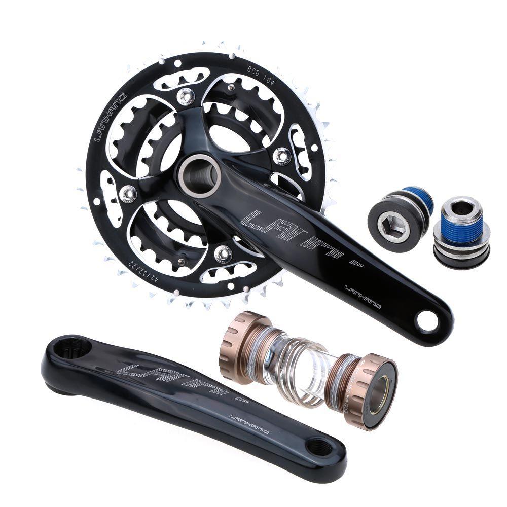 how to put a crank on a bike