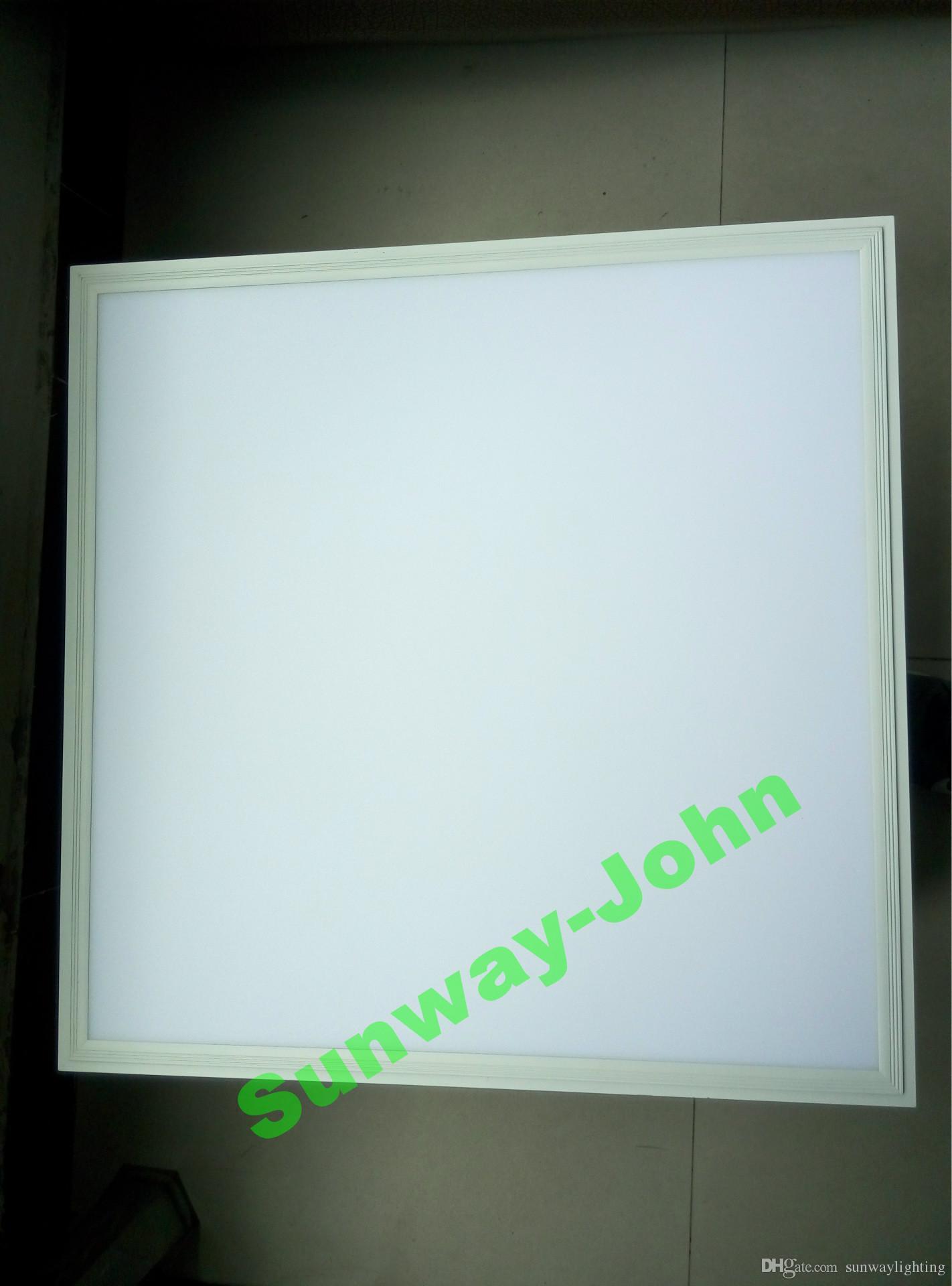 CE UL 화이트 프레임 2x2 2x4 LED 패널 조명 600x600mm 36W 48 54W 72W 플랫 LED 천장 패널 빛 따뜻한 자연 흰색 AC85-265V