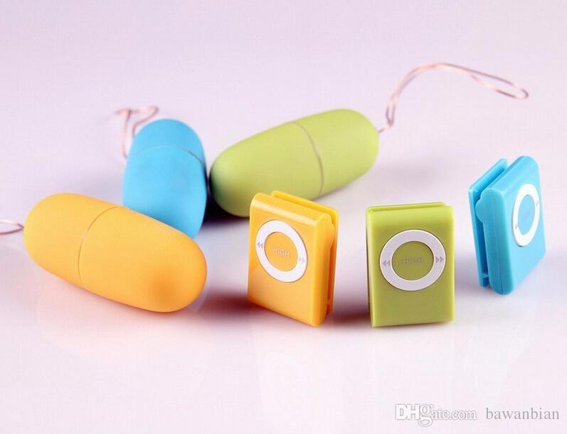 방수 휴대용 무선 MP3 진동기 원격 제어 여성 진동 계란 바디 마사지 섹스 장난감 성인 제품