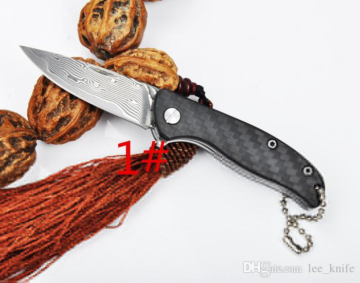 새로운 2016 SW03 미니 티타늄 사자 빙 야외 캠핑 사냥 칼 칼 칼 선물 칼 무료 배송 을 3models