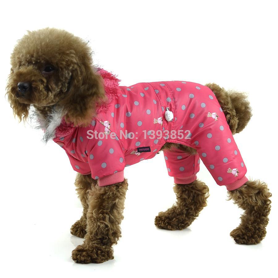 Compre Perrito Invierno Abrigo Mascotas Moda Exterior Desgaste ...