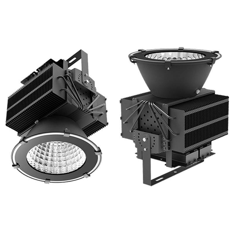 500w Led Floodlight Cree Chip Meanwell Driver High Bay Light Waterproof  Industrial Flood Light Led Tunnel Lamp Workshop Lamp Led Tower Light  Commercial Led ...