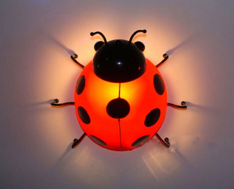Best Children\'S Bedroom Wall Led Bedside Lamps. Beetle Children ...