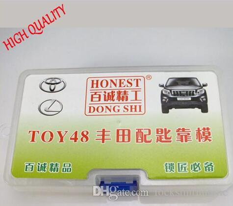 Honest TOY48 toyota Locksmith Car Key Moulds For Key Duplicating Lock Pick Tools for door opener