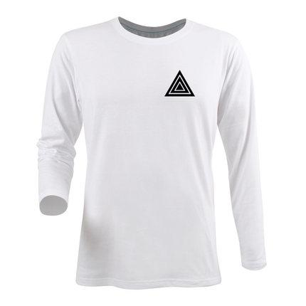 1106271af09 Wholesale Fashion DJ HARDWELL TRIANGLE LOGO Printed T Shirts Spring Summer  Fall Male Long Sleeve Shirt Hip Hop Street 100% Cotton Canada 2019 From ...